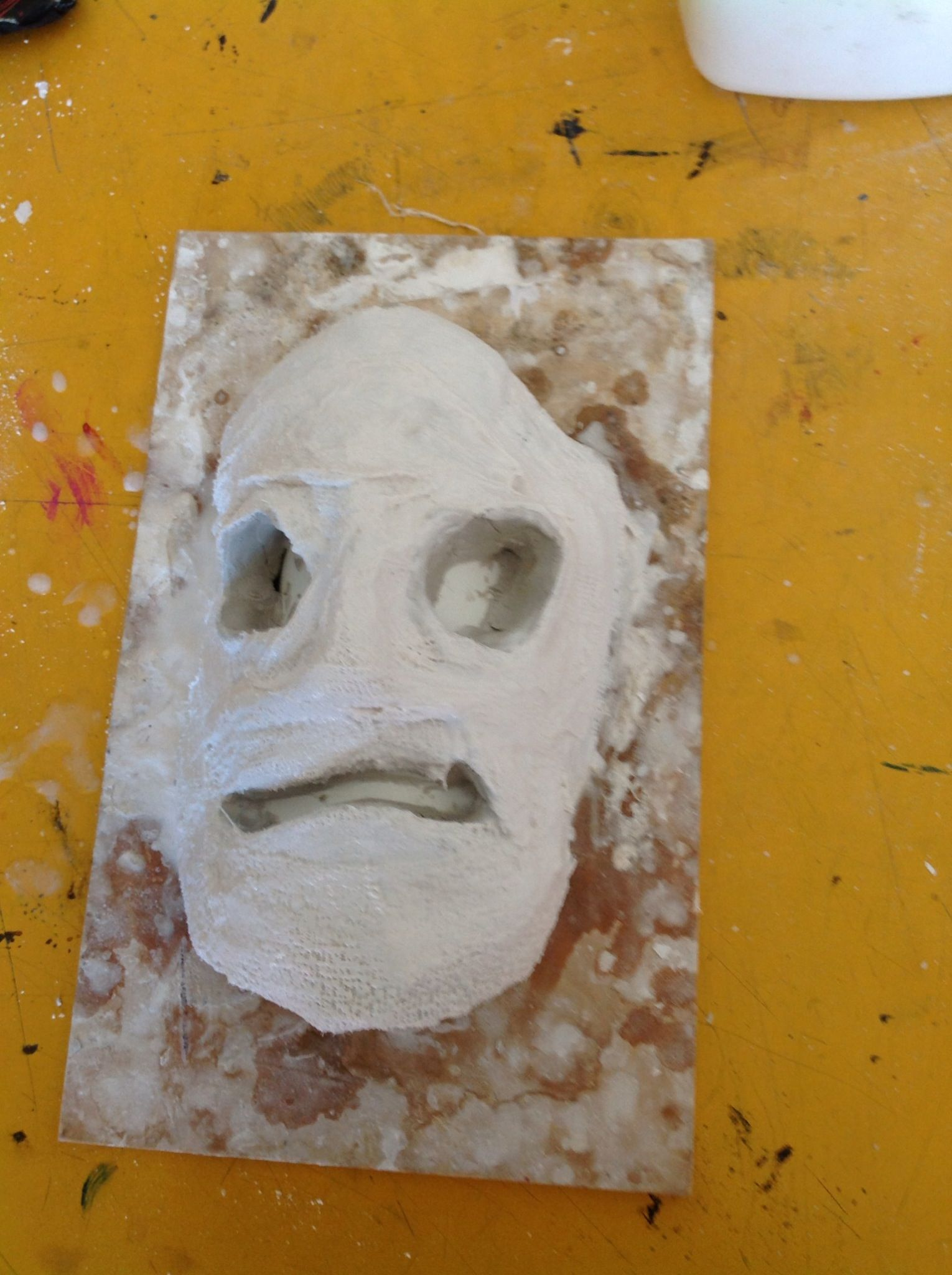 My snapguide explaining 'How to Make a Plaster Mask.'