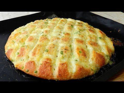Knoblauch Mozzarella Brot!