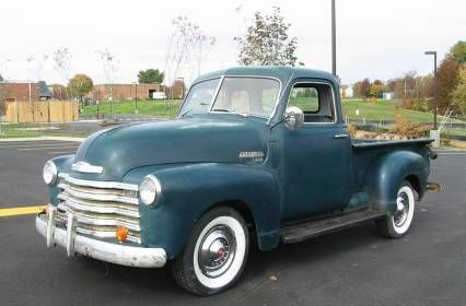 1949 Chevy 3100 Short Bed Five Window Project For Sale Design That