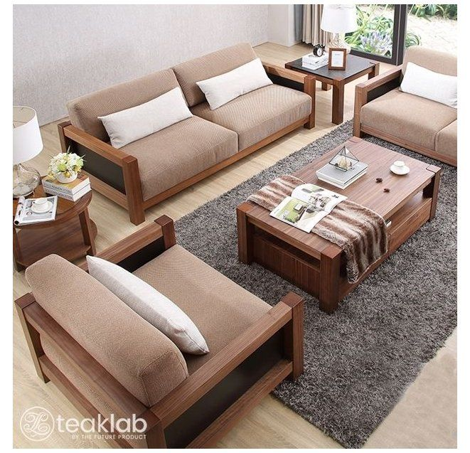Buy Indian Minimalist Wooden Sofa Set Online Teaklab Bed Furniture Design India Bedfurniture Wooden Sofa Set Wooden Sofa Designs Living Room Sofa Design