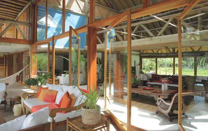 Breaking Dawn Honeymoon Hideaway In Brazil Rustic Beach House Honeymoon House Tropical Beach Houses