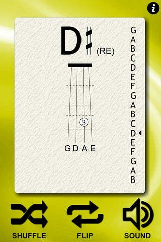 Violin Notes Flash Cards - app for iPhone and iPad Great ...