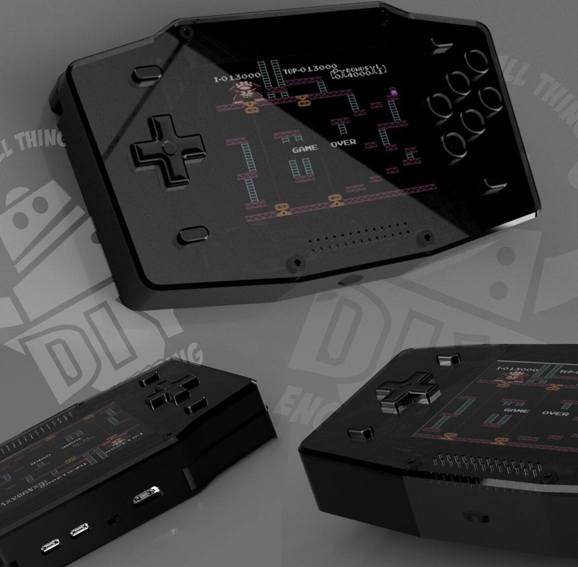 Im Designing an affordable ($25) #pizero #handheld kit  What