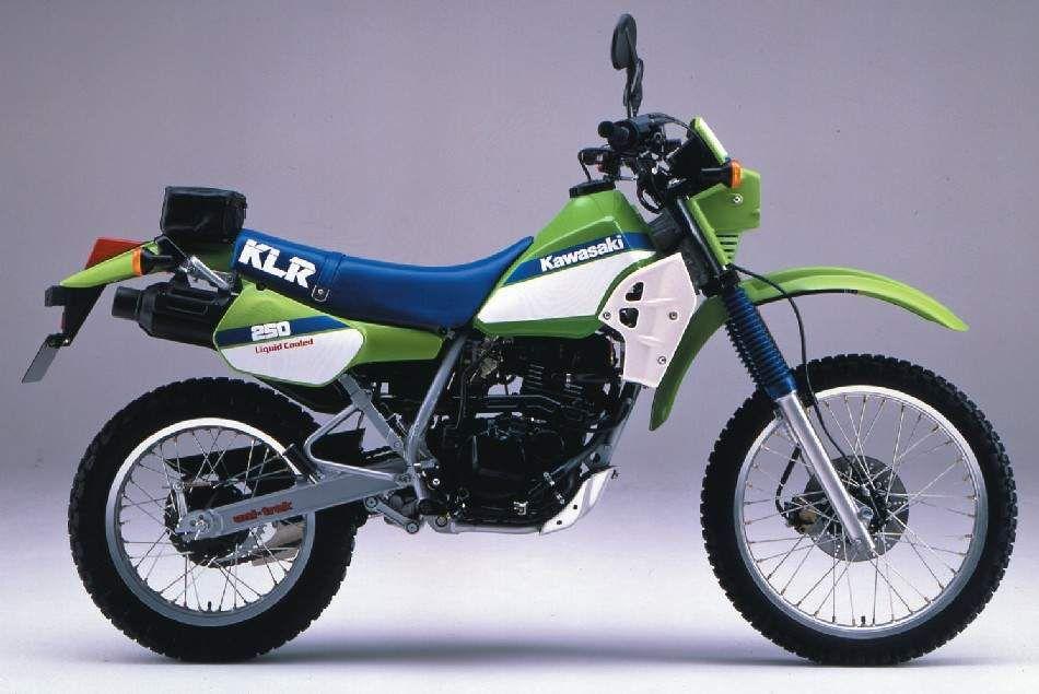 KLR 250, 19861987 (With images) Kawasaki, Motorcycle