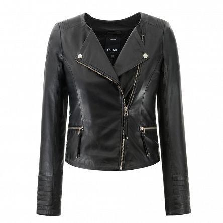 Kurtka Damska Id927w16 2590 Ochnik Sklep Internetowy Leather Jacket Fashion Jackets