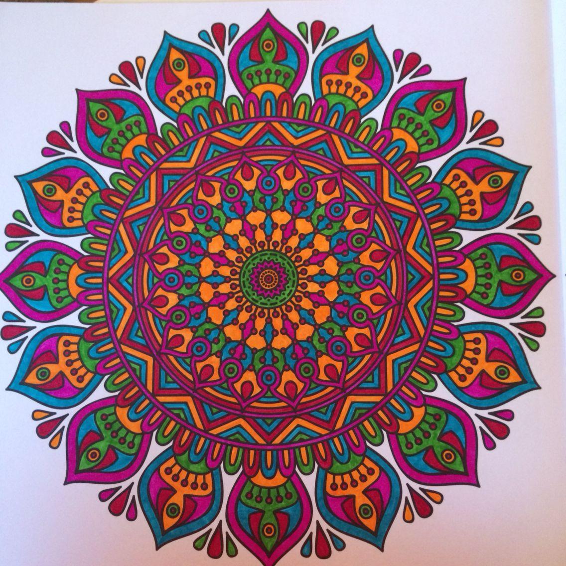 Pin de Bill Holmes en Mandalas | Pinterest | Mandalas y Color