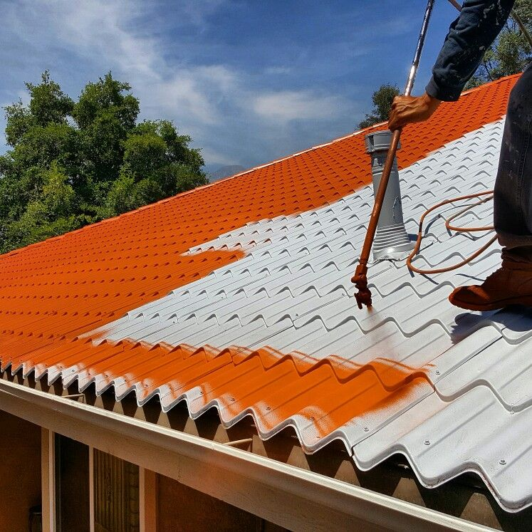 Metal Roof Restoration In Upland Ca With Nutech Paints