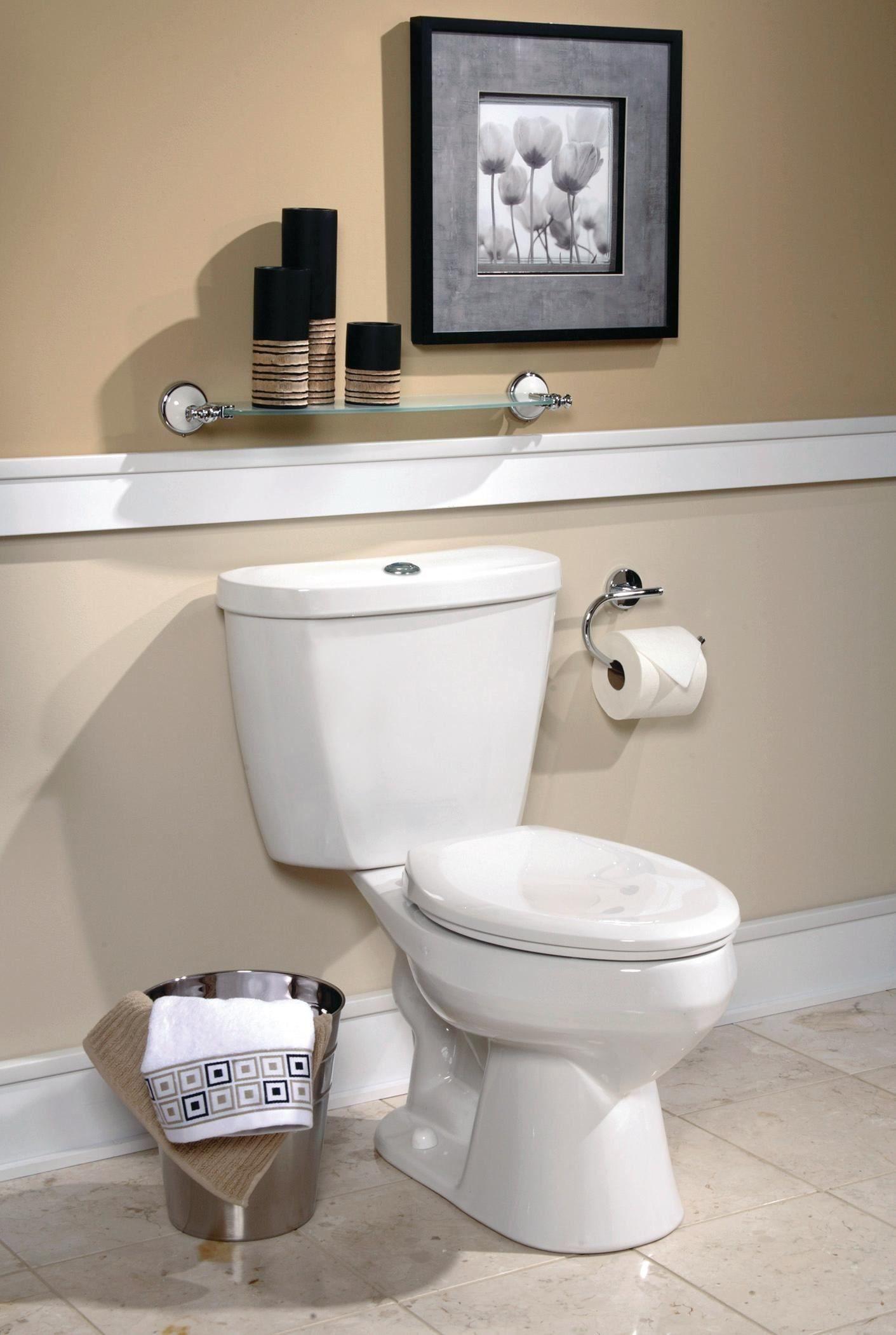 An Efficient Bathroom Dual Flush Toilet Dual Flush Toilet Chair Rail Toilet Repair