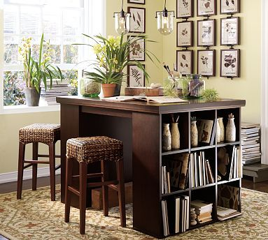 Bedford Project Table Set - improvisation thinking 2 expedits with a bench top. & Pottery Barn Bedford Project Table Set Antique White | Project ...