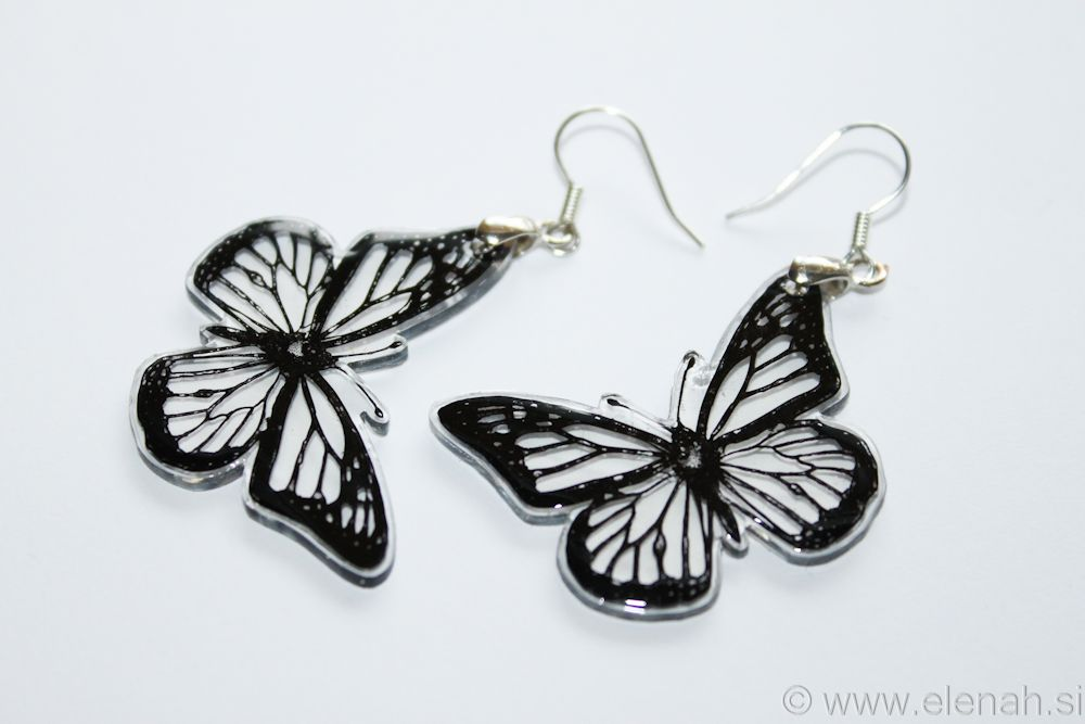 Butterfly Recycled Plastic Earrings