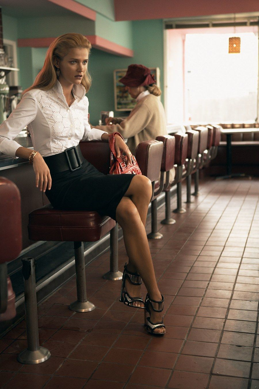 The 7 Coolest Classic Diners In America Vintage Cafe Design Vogue American Diner