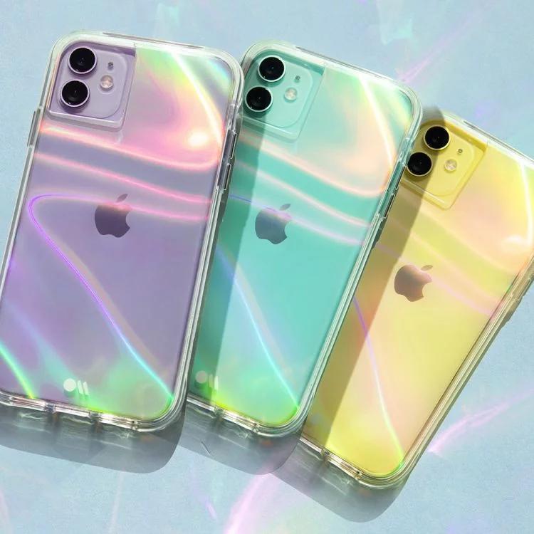 Iphone 11 Purple Aesthetic Case