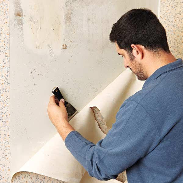 Stripping Wallpaper Off Of Plaster