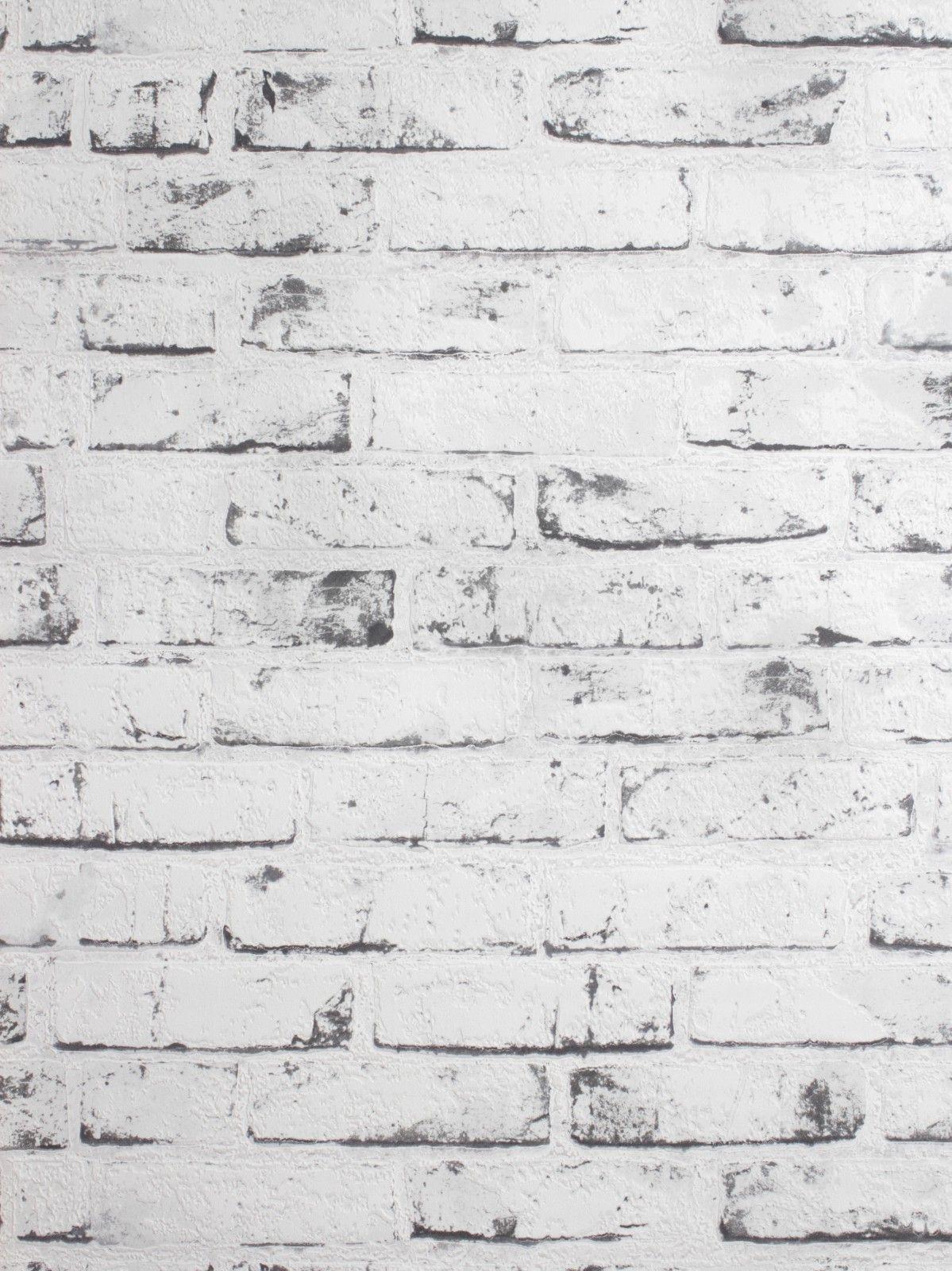 Vliestapete Weiß Steine As Creation 9078-37 | Tapeten | Pinterest ... Stein Tapete Schwarz Wohnzimmer
