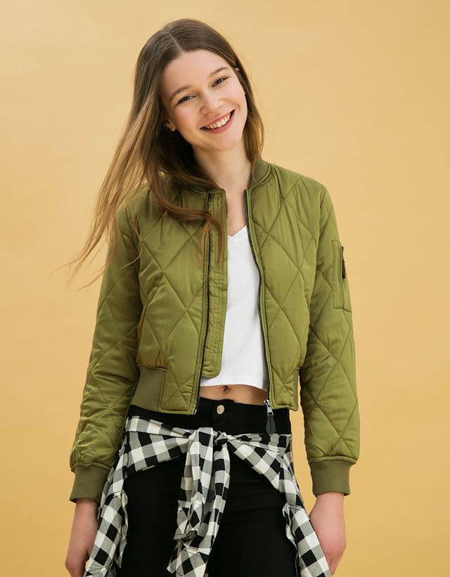 Cheap jackets jeans for women, Buy Quality jacket clothing directly from  China jacket everlast Suppliers: LINSHOW Solid Pockets Army Green Bomber  Jacket ...
