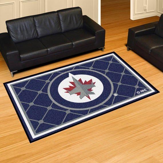 Nhl Winnipeg Jets Ultra Plush Area Rug Plush Area Rugs