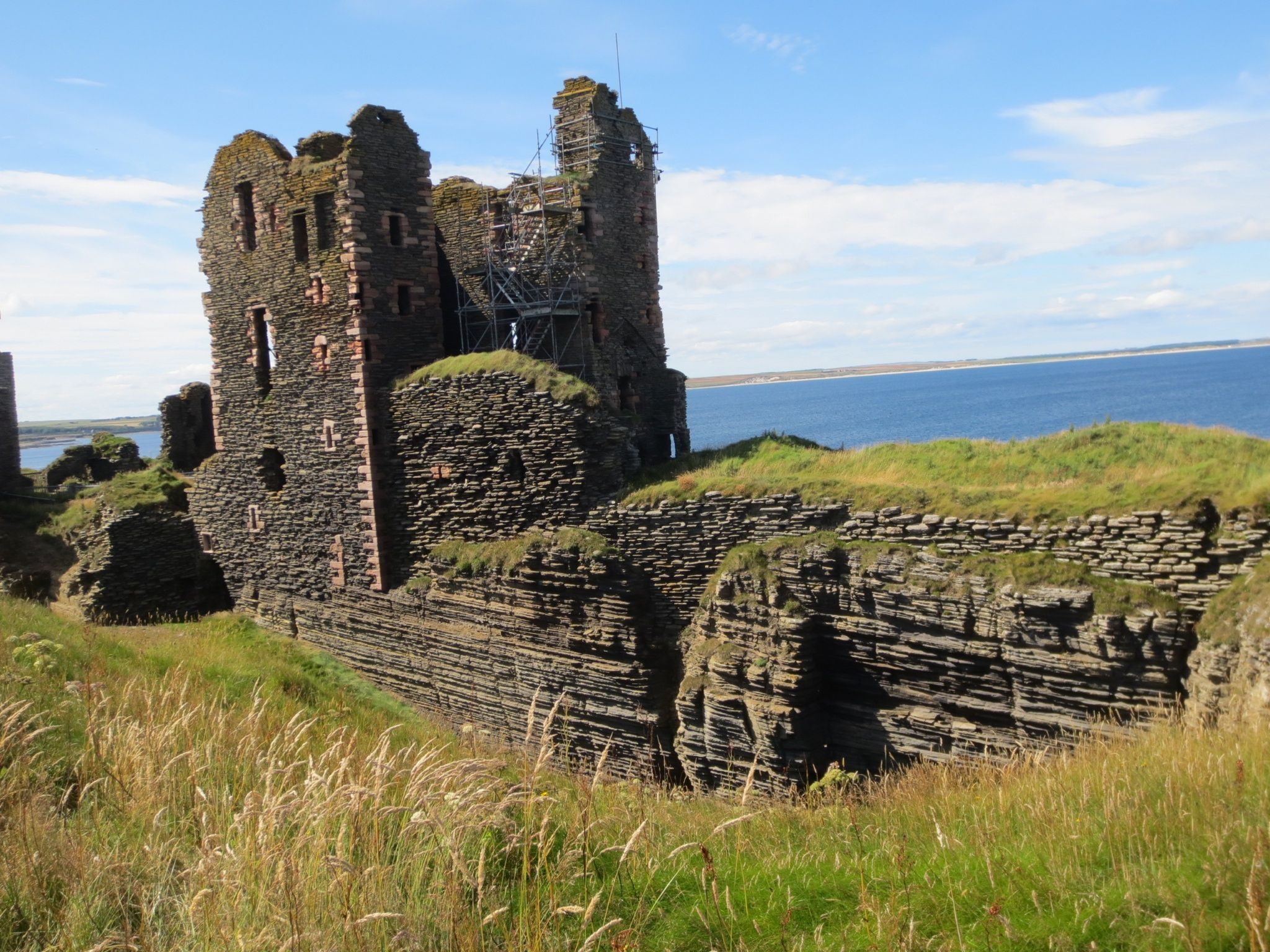 The Castle Sinclair Grinigoe, just outside Wick, Cathiness