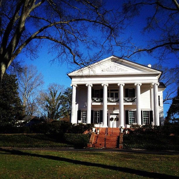 Oak Hill In Rome Georgia Was The Home Of Martha Berry Founder