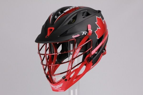 Team Canada Cascade R Helmet For Fil World Championships Team Canada Helmet World Championship