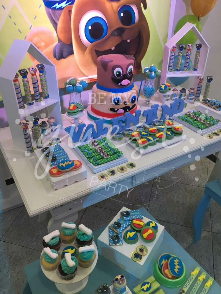 Puppy Dog Pals Birthday Party Ideas Photo 1 Of 20 Dog Themed