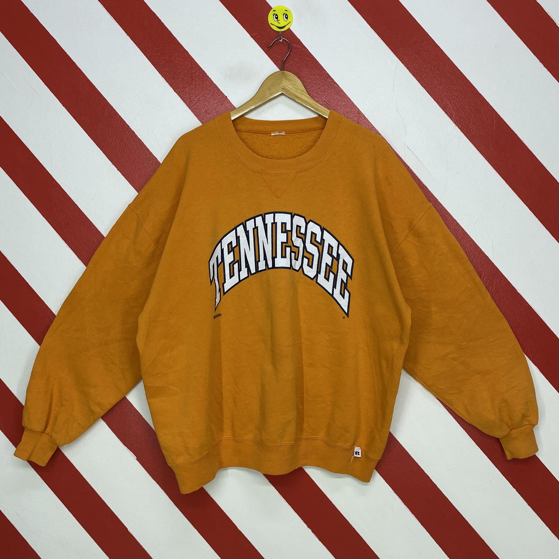 Vintage 90s University Tennessee Sweatshirt Tennessee Crewneck Tennessee Vols Sweater Pullover Tennessee Vols Print Logo Orange Size Xxlarge Sweatshirts Long Sleeve Tshirt Men Print Logo [ 3000 x 3000 Pixel ]