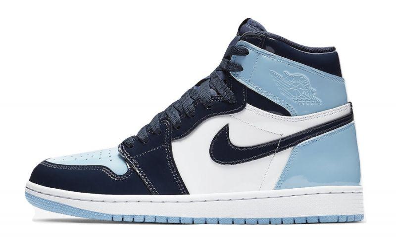 Air Jordan 1 Retro High OG WMNS Blue Chill | Jordan shoes girls ...