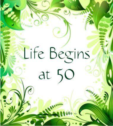Life begins at 50 dating