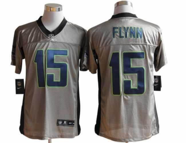 seattle seahawks 15 matt flynn elite grey shadow nfl jersey http www