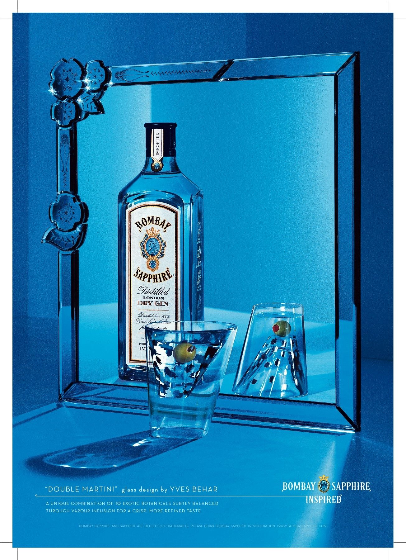 glass sapphire edition limited cocktail uk balloon co kitchen home amazon dp bombay