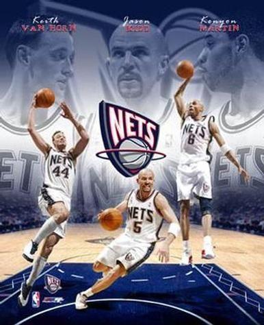 Old School Nets Big 3 Jefferson Kidd Van Horn Famosos Noticias