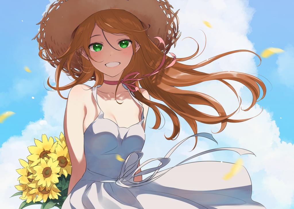 Summer With Monika Ddlc Anime Summer Anime Kawaii Anime