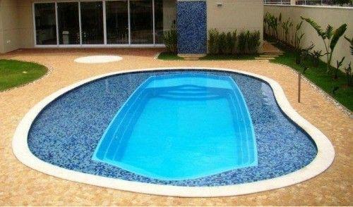 piscina de fibra com praia em alvenaria pesquisa google projetos pinterest searching - Piscinas De Fibra