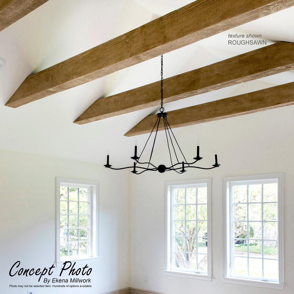 Ekena Millwork 10 In X 6 In X 16 Ft 3 Sided U Beam Riverwood Natural Pine Faux Wood Beam Bmrw3c0060x100x192pp The Home Depot Ceiling Beams Living Room Vaulted Ceiling Living Room Vaulted Ceiling Beams