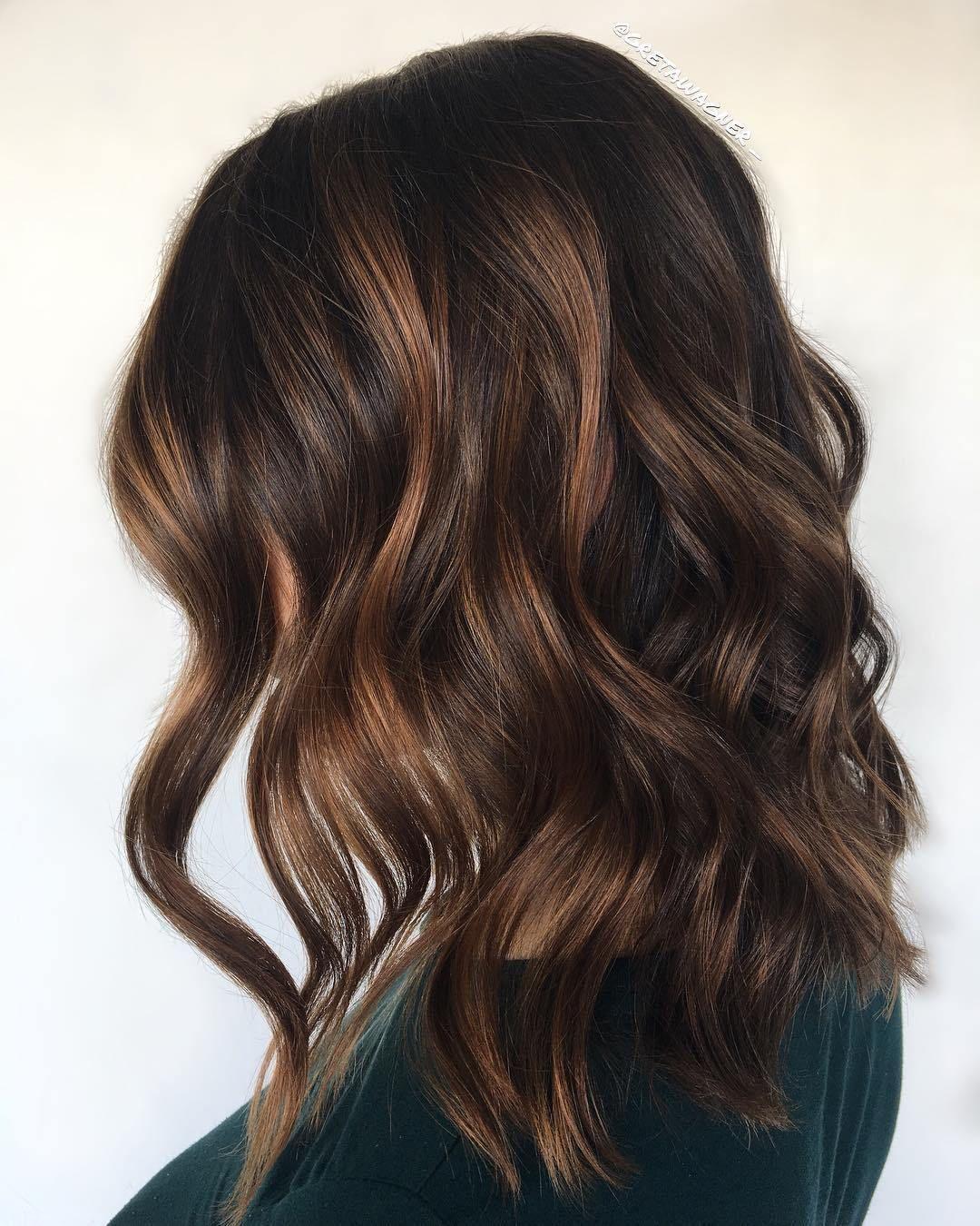 35++ Medium brown hair with caramel highlights inspirations