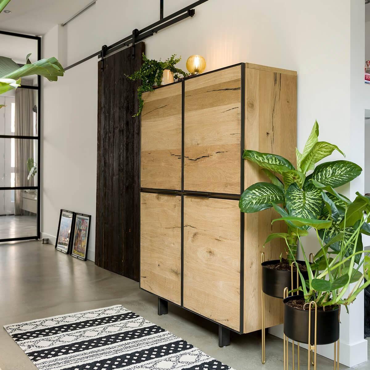 Creez Un Interieur Chaleureux Familial Et Durable Avec Le Meuble Heth Natural Living Room Home Decor Furniture