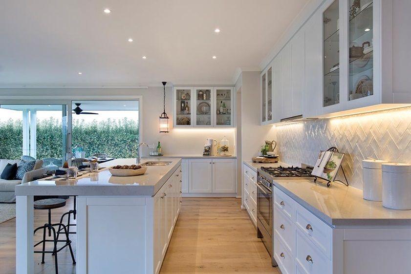 Hillside 35 Kitchen - Classic Kitchen Design hamptons style