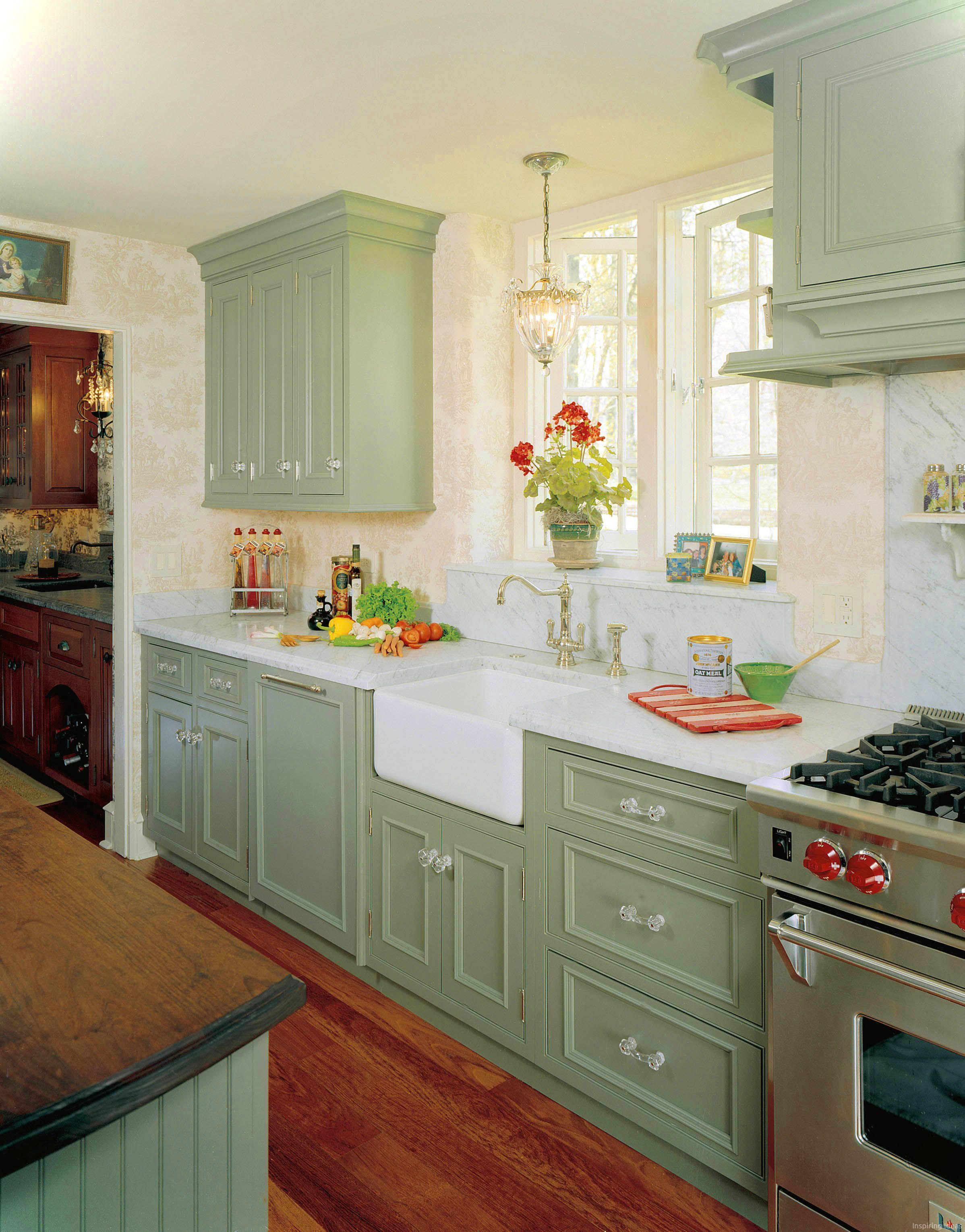 Cool 44 Inspiring Cottage Kitchen Cabinets Ideas Country Style Https Roomaniac Com 4 Cottage Kitchen Cabinets English Country Kitchens Cottage Kitchen Design