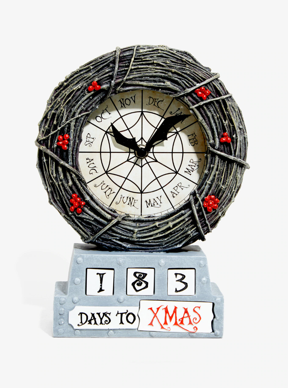 The Nightmare Before Christmas Countdown Table Clock Hot
