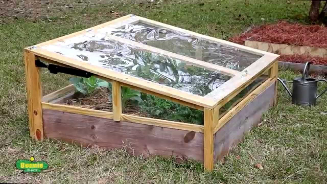 How to Build a Raised Bed Cold Frame | At Home in the Garden ...