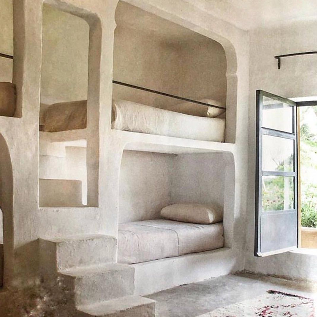 Jayne Henderson On Instagram Bunk Bedroom Photo Via Maison De Base Bedroom Bunkbeds Design Cement Simplicity Inspiration Neutraldecor In 2020