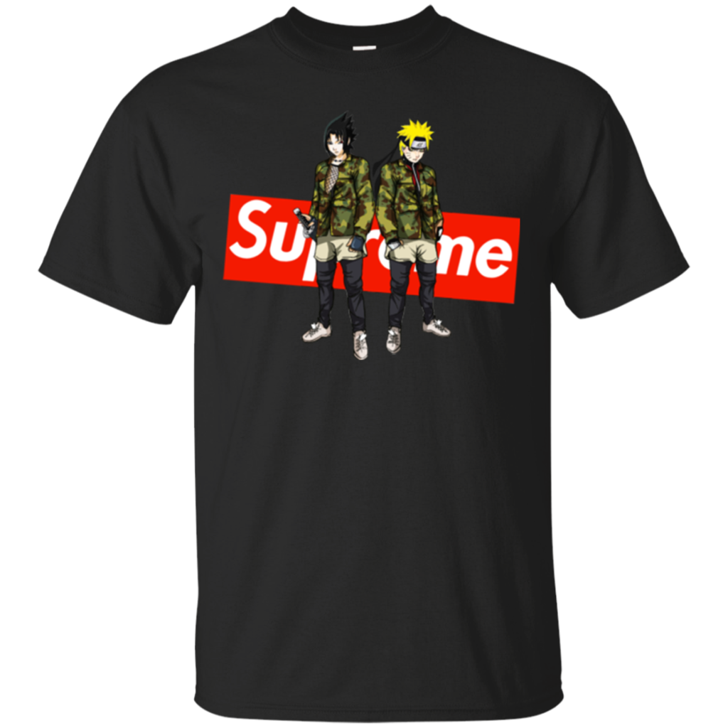 Sasuke And Naruto T Shirt Supreme T Shirt Hoodie Sweatshirts  b492288540043