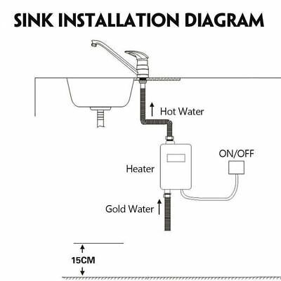 Details about 220V Mini Electric Tankless Instant Hot