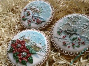 Sliczne Pierniki Pierniczki Swiateczne Nowosc 5830758361 Oficjalne Archiwum Allegro Christmas Tree Wreath Christmas Cookies Gingerbread