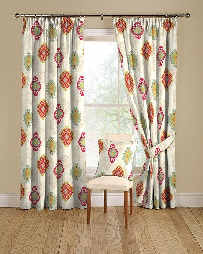 Kilim 06 Terracotta Curtains Curtains Made To Measure