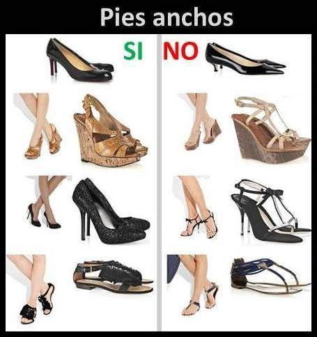 fecha de lanzamiento: Precio al por mayor 2019 en pies imágenes de Zapatos Para Pies Anchos | Consejos De Chicas en 2019 ...