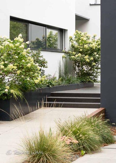 Garten Modern Gestalten. Terrassen-Modern-Gestaltenmauern-Und
