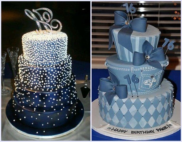 Denim and Diamond Party Cakes Ideas | Diamond theme party