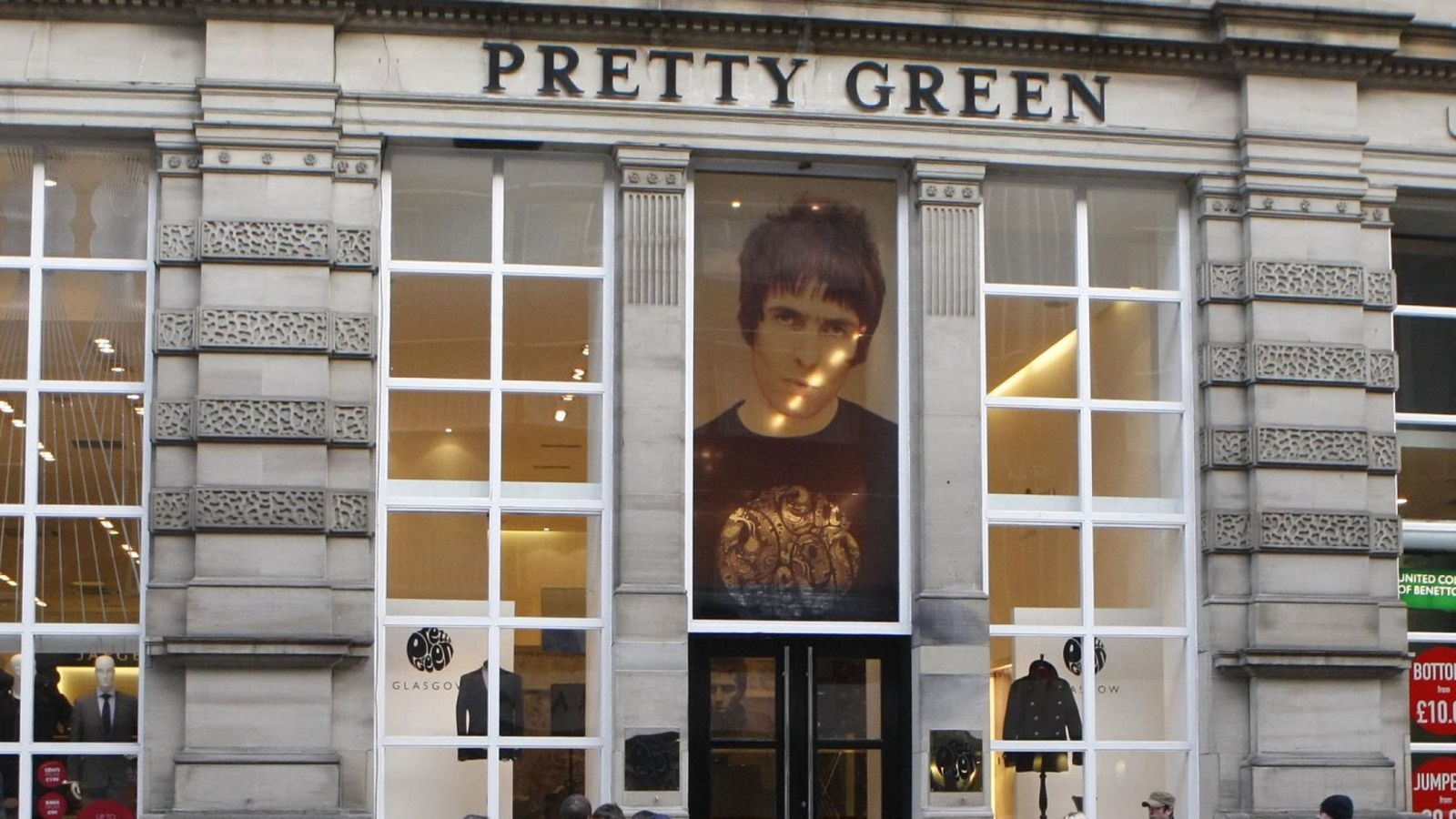 JD Sports snaps up Liam Gallagher's Pretty Green brand