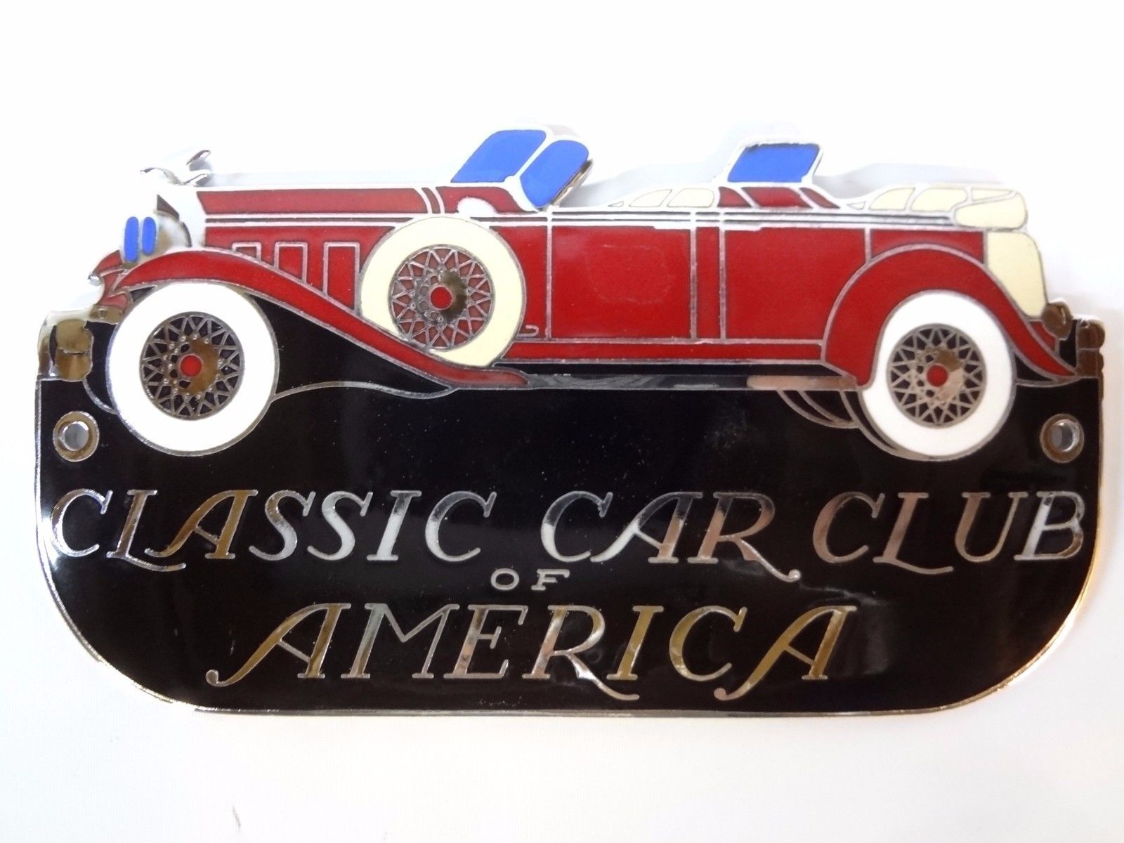 Classic Car Club of America Grille Badge CCCA Grill emblem National ...