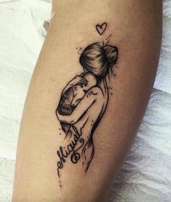 Mother Daughter Tattoos Matching Tattoo Designs Meaningful Tattoo Designs Lovely Tattoo Designs Cute Tattoos For Daughters Baby Tattoos Mom Tattoos